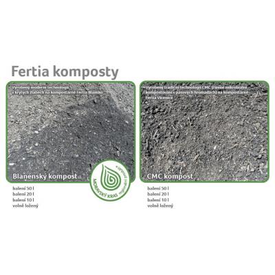 Složení a vlastnosti našich kompostů
